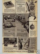 1968 PAPER AD Game Gentle Ben Ouija Board Kreskin ESP Parker Brothers Mark