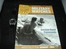 Eaglemoss Military Watches - Issue 13 - German Naval Commando Watch 1960s NO BOX