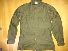 US ARMY VIETNAM OG-107 OLIVE GREEN 1973 UNIFORM UTILITY Jacke Sateen Cotton NAVY