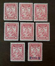 Philippines stamp  #J8-J14 postage due mint hinged original gum