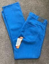 BNWT QUIKSILVER STRAIGHT FIT BLUE SURF TROUSERS JEANS 38 W 34 L