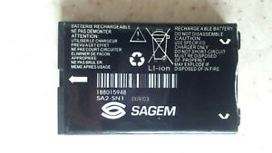Replacement battery for Sagem SA2-SN1 New