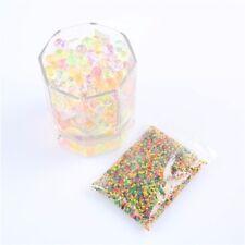 Lot 400 billes de gel perles d'eau choix 8 couleurs décorations mariages...