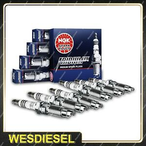 6 NGK Iridium Spark Plugs for Ssangyong Musso Rexton RX320 3.2L M 6Cyl 1996-2004