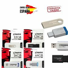 Pendrive memoria USB 3.1 3.0 Kingston DATATRAVELER 8/16/32/64/128GB Unidad Flash