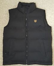 CAT Caterpillar OFFICIAL Licensed Down Puffer  Vest Sleeveless Jacket Men Size M