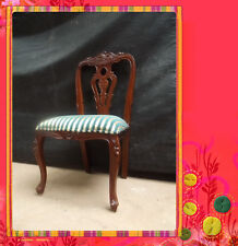 Solid Mahogany Provincial Furniture French Colonial Dining Chair