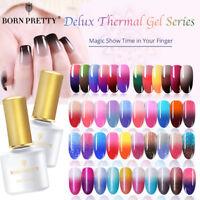 BORN PRETTY Thermo Multiple UV Gel Nail Art Esmalte de uñas Semi Permanente 6ml