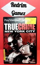True Crime New York City PS2 Video Games