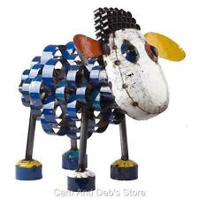Eeieeio Metal Sid The Sheep Garden Sculpture Ornament Statue Small