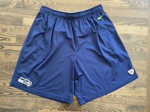 Nike SEATTLE SEAHAWKS Team Issued Practice Shorts Size 2XL XXL