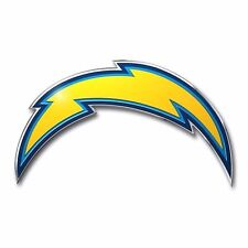 San Diego Chargers Color Auto Emblem Car Decal Licensed NFL Football New