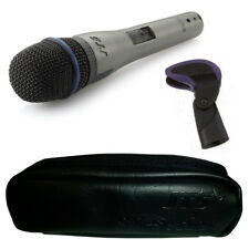 JTS SX-7S Handheld Dynamic Wired Vocal Instrument Microphone +Switch +Clip +Case