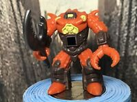 Vintage Battle Beasts Action Figure Crusty Crab W/ Rub And Weapon