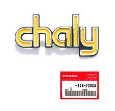 HONDA Chaly Rahmen Emblem Links ORIGINAL HONDA NEU !