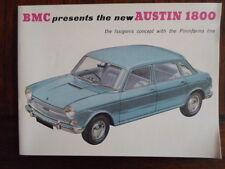 AUSTIN 1800 brochure c1966 - BMC BL Pininfarina - 2267/D