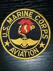 1970s 80s 90s USMC AV-8 Harrier Aviation Fighter Pilot Marine Squadron Patch