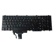 Dell Latitude E5550, E5570 Precision 15 Precision 17 Keyboard 0N7CXW QWERTY