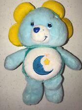 Vintage Kenner Bedtime Care Bear plush 1983 sleepy moon star stuffed Bed Time