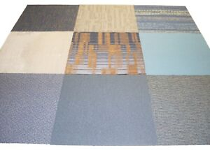 36 Pcs Carpet Tile 24'' x 24'' Total 144 S/F Multi-color Coordinate Its Design .