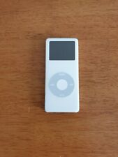 More details for apple ipod a1137 nano 1st generation (2gb) white tested & working