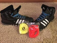 Adidas Pre-owned Youth Basketball Shoes Size 6.5 Black w/extra strings