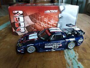 Action 1:18 2003 Corvette C5R #53 Compuware 24hrs Le Mans Ron Fellows 107103