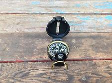 Vintage Precise Pathfinder Engineer Lensatic Compass Taiwan