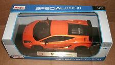 1/18 Lamborghini Gallardo Superleggera Diecast Model Car - Supercar Maisto 31655