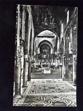 OLD POSTCARD OF PALERMO - CAPPELLA PALATINA - MPSAICI - HAS PAPER STUCK ON BACK