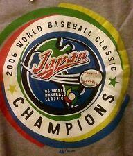 World Baseball Classic 2006 CHAMPIONS JAPAN Sweatshirt MAJESTIC Sz LG NEW W/TAGS