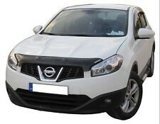 Nissan Qashqai +2 2010 - 2014 GENUINE Bonnet / Bug Guard Protector - Dark Smoke