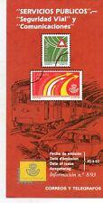 España Servicios Publicos Seguridad Vial Comunicaciones año 1993 (DN-864)