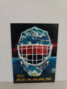 96-97 Pinnacle MASKS #10 0f 10 rare Kelly Hrudey San Jose Sharks mask