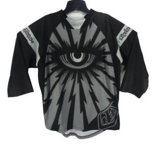 New Troy Lee Designs Men's Ruckus Cyclops BMX Motorcross Jersey M Side Pocket