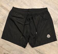 Moncler Black Swim Shorts Size Medium