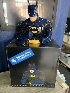 Warner Brothers Studio Store Batman cookie jar brand new unused