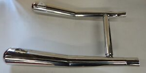 Moto Guzzi 850 Le Mans 1 2 3, PR exhaust silencers, stainless
