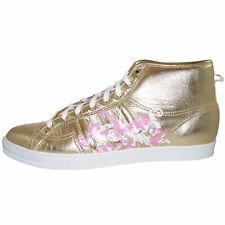 Adidas Nizza Hi Sleek H.F.F Damen Sneaker Turnschuhe Sportschuhe gold 019443 RAR