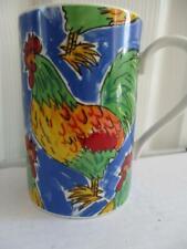 Dunoon stoneware mug Animal farm designed by Jane Brookshaw Funky chicken design