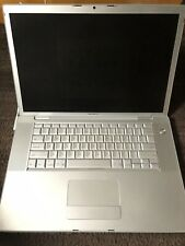 """Apple MacBook Pro A1150 15.4"""" Laptop MA463LL/A 2006 Dim Screen Charger USED"""