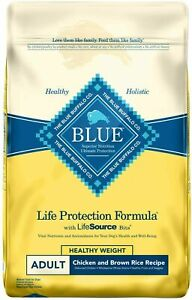 Blue Buffalo Life Protection Formula Healthy Weight Adult Chicken  30 LB
