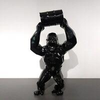Black King Kong Statue Gorille Richard Orlinski Inspired décoration Art