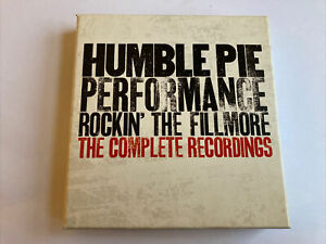 "Humble Pie ""Rockin' the Fillmore-The Complete Recordings"" 4 CD box set 1971"