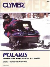 CLYMER SERVICE MANUAL POLARIS SNOWMOBILES 1990-1995 400, 500, 650, RXL, SKS, SP