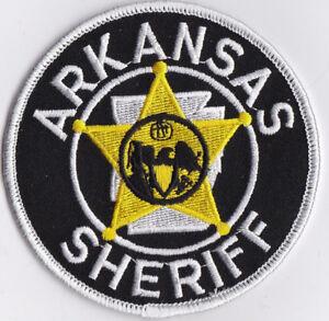 Arkansas Sheriff Police Patch Arkansas AR