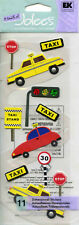 """Jolee's Boutique """"TAXI RIDE"""" Dimensional Scrapbooking Sticker - AG5"""
