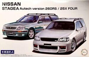 Fujimi 1/24 Nissan Stagea Autech Version Plastic Model Kit 046136