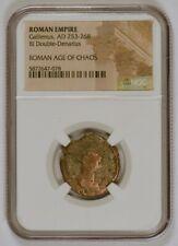Roman Empire AD 253-268, BI Double-Denarius for Gallienus, NGC Certified