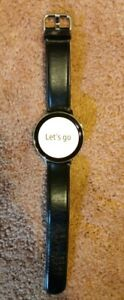 Samsung Galaxy Watch Active 2(LTE) Silver w/ Black Leather Band